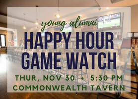 YA Happy Hour Game Watch Nov30