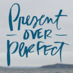 Present over Perfect Book Club Tile