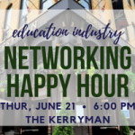 2018 Networking Happy Hour - Education Tile